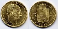8 Forint / Gulden 1888 KB Österreich-Ungarn / Austria-Hungary Franz Jos... 310,00 EUR