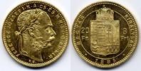 8 Forint / Gulden 1885 KB Österreich-Ungarn / Austria-Hungary Franz Jos... 280,00 EUR