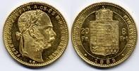 8 Forint / Gulden 1883 KB Österreich-Ungarn / Austria-Hungary Franz Jos... 290,00 EUR