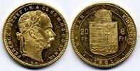 8 Forint / Gulden 1881 KB Österreich-Ungarn / Austria-Hungary Franz Jos... 265,00 EUR