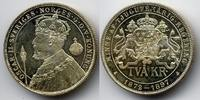 2 kronor 1897 Schweden / Sweden Oscar II - Silberne Regierungsjubiläum ... 275,00 EUR