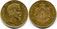 100 Francs 1858 BB France / Frankreich Napoleon III gutes sehr schön  1800,00 EUR