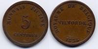AE 5 centimes 1833 Belgien / Belgium Gefängnis von Vilvorde / Prison of... 60,00 EUR