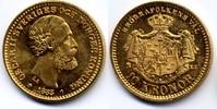 10 kronor 1883 Sweden / Schweden Oskar II fast Stgl  220,00 EUR
