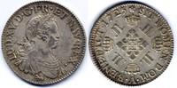 1/2 Ecu aux 8 L 1725 A Frankreich / France Louis XV fast vzgl  1450,00 EUR
