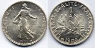 1 Franc 1909 France / Frankreich III. République, 1871-1940 / Third Rep... 100,00 EUR