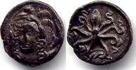 AE Litra ca 336-317 BC Sizilien / Sicily Syracuse. Third Demacray. 336-... 900,00 EUR