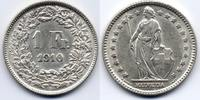 1 Franken 1910 Schweiz / Switzerland  vzgl  35,00 EUR