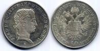 10 Kreuzer 1837 A Österreich / Austria Ferdinand I fast Stgl  150,00 EUR