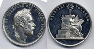 Zn-Medaille / Zn Medal 1872 Schweden / Sweden Karl XV. 1859-1872 vzgl-S... 60,00 EUR
