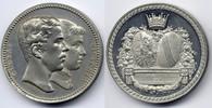 Zn-Medaille / Zn Medal 1881 Baden-Durlach Victoria von Baden - die Verm... 90,00 EUR