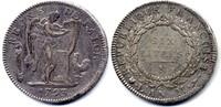 Ecu de 6 Livres 1793 N France / Frankreich Convention 1792-1795 fast Se... 775,00 EUR  zzgl. 12,00 EUR Versand