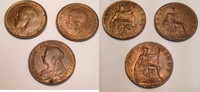 1/2 penny / Halfpenny 1901-13-21 Grossbritannien / Great Britain Victor... 35,00 EUR  zzgl. 6,00 EUR Versand