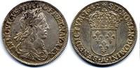 1/4 Ecu 1642 A France / Frankreich Louis XIII Sehr schön-vzgl  300,00 EUR  zzgl. 12,00 EUR Versand