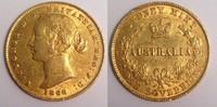 Sovereign 1868 Australia / Australien Victoria - AUSTRALIA type Sehr sc... 480,00 EUR  zzgl. 12,00 EUR Versand
