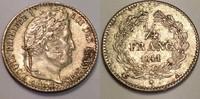 1/4 Francs / 25 centimes 1841 A France / Frankreich Louis Philippe gute... 30,00 EUR  zzgl. 6,00 EUR Versand