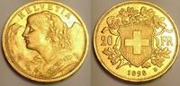 20 Franken 1898 Switzerland / Schweiz Vreneli vzgl  260,00 EUR  zzgl. 12,00 EUR Versand
