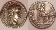 denarius / denar 18-35 Roman Empire / Römische Kaiserzeit Tiberius - Tr... 700,00 EUR  zzgl. 12,00 EUR Versand