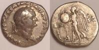 AR Denarius / Denar 80/81 AD Roman Empire / Römische Kaiserzeit Divus V... 220,00 EUR  zzgl. 12,00 EUR Versand