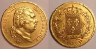 40 Francs 1818 W France / Frankreich Louis XVIII Fast vzgl  675,00 EUR  zzgl. 12,00 EUR Versand