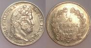 1/4 Franc 1837 B France / Frankreich Louis Philippe Sehr schön-vzgl  250,00 EUR  zzgl. 12,00 EUR Versand