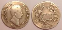 1/4 Franc / Quart Franc 1807 U France / Frankreich Napoleon Bonaparte -... 160,00 EUR  zzgl. 10,00 EUR Versand