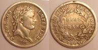 1/2 Franc 1808 Q France / Frankreich Napoleon Bonaparte - Empereur Sehr... 180,00 EUR  zzgl. 10,00 EUR Versand