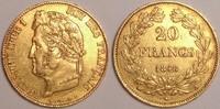 20 Francs 1848 A France / Frankreich Louis Philippe gutes Sehr schön  320,00 EUR  zzgl. 12,00 EUR Versand