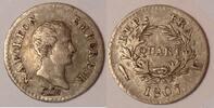 1/4 Franc / Quart Franc 1807 K France / Frankreich Napoleon Bonaparte -... 425,00 EUR  zzgl. 12,00 EUR Versand
