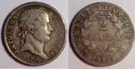 2 Francs 1811 T France / Frankreich Napoleon Bonaparte - Empereur gutes... 475,00 EUR  zzgl. 12,00 EUR Versand