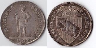 1/2 Taler 1797 Schweiz, Bern  vz+