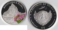 5 Dollar 2009 Palau Mountains & Flora  Matterhorn PP  49,00 EUR  zzgl. 4,80 EUR Versand