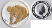 1 Dollar 2010 P Australien Koala mit Goldauflage st  69,90 EUR  zzgl. 6,20 EUR Versand