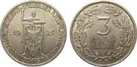 3 Mark Rheinlande 1925 E Weimarer Republik  knapp vorzüglich  44,00 EUR