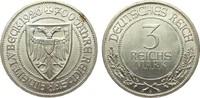 3 Mark Lübeck 1926 A Weimarer Republik  vorzüglich / Stempelglanz  145,00 EUR