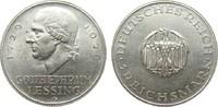 3 Mark Lessing 1929 G Weimarer Republik  vorzüglich  69,00 EUR