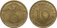 10 Pfennig 1936 A Drittes Reich  vorzüglich  55,00 EUR