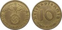10 Pfennig 1936 E Drittes Reich  sehr schön  155,00 EUR