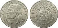 2 Mark Luther 1933 A Drittes Reich  vorzüglich  30,00 EUR