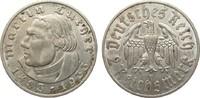 2 Mark Luther 1933 E Drittes Reich  fast vorzüglich  25,00 EUR