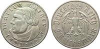 2 Mark Luther 1933 E Drittes Reich  knapp vorzüglich  28,00 EUR