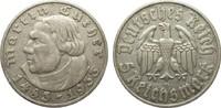 5 Mark Luther 1933 D Drittes Reich  sehr schön  95,00 EUR