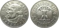 5 Mark Luther 1933 G Drittes Reich  gutes sehr schön  145,00 EUR