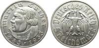 5 Mark Luther 1933 G Drittes Reich  wz. Randfehler, vz  /  vz+  195,00 EUR