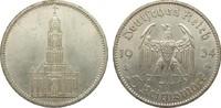 5 Mark Kirche ohne Datum 1934 A Drittes Reich  vorzüglich  17,00 EUR