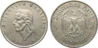 2 Mark Schiller 1934 F Drittes Reich  besser als sehr schön  44,00 EUR