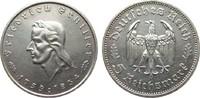 5 Mark Schiller 1934 F Drittes Reich  fast vorzüglich  195,00 EUR