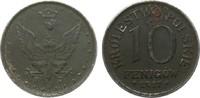 10 Fenigów 1917 F Kolonien und Nebengebiete  etw. korrodiert, sehr schö... 2,00 EUR
