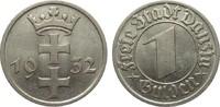 1 Gulden Danzig 1932 Kolonien und Nebengebiete  gutes vorzüglich  75,00 EUR