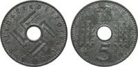 5 Pfennig Reichskreditkassen 1940 A Kolonien und Nebengebiete  fast Ste... 125,00 EUR